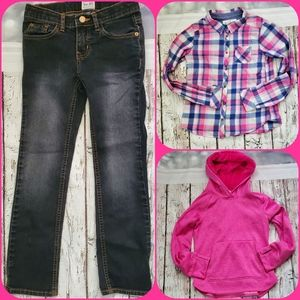 Girls Size 7/8 Fall Bundle